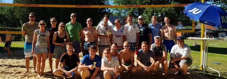 Gruppenbild Volleyballtunier