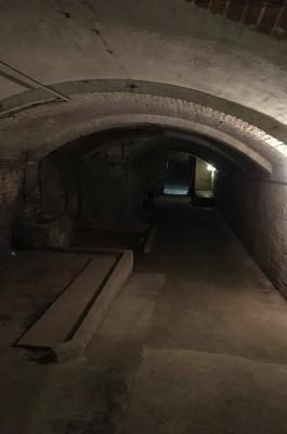 Bunkerbesichtigung Blick in den Bunker